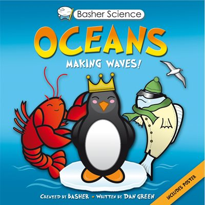 Book cover for Basher Science: Oceans